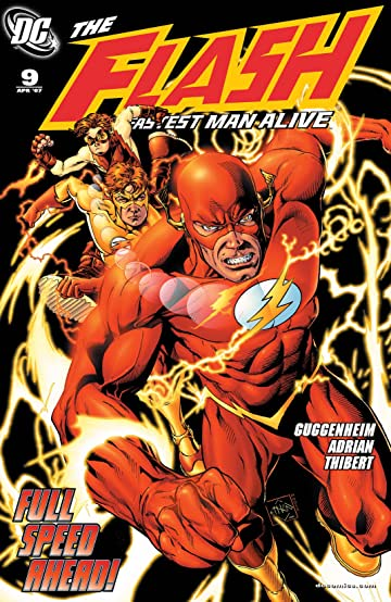 The Flash: The Fastest Man Alive (2006-2007) #9
