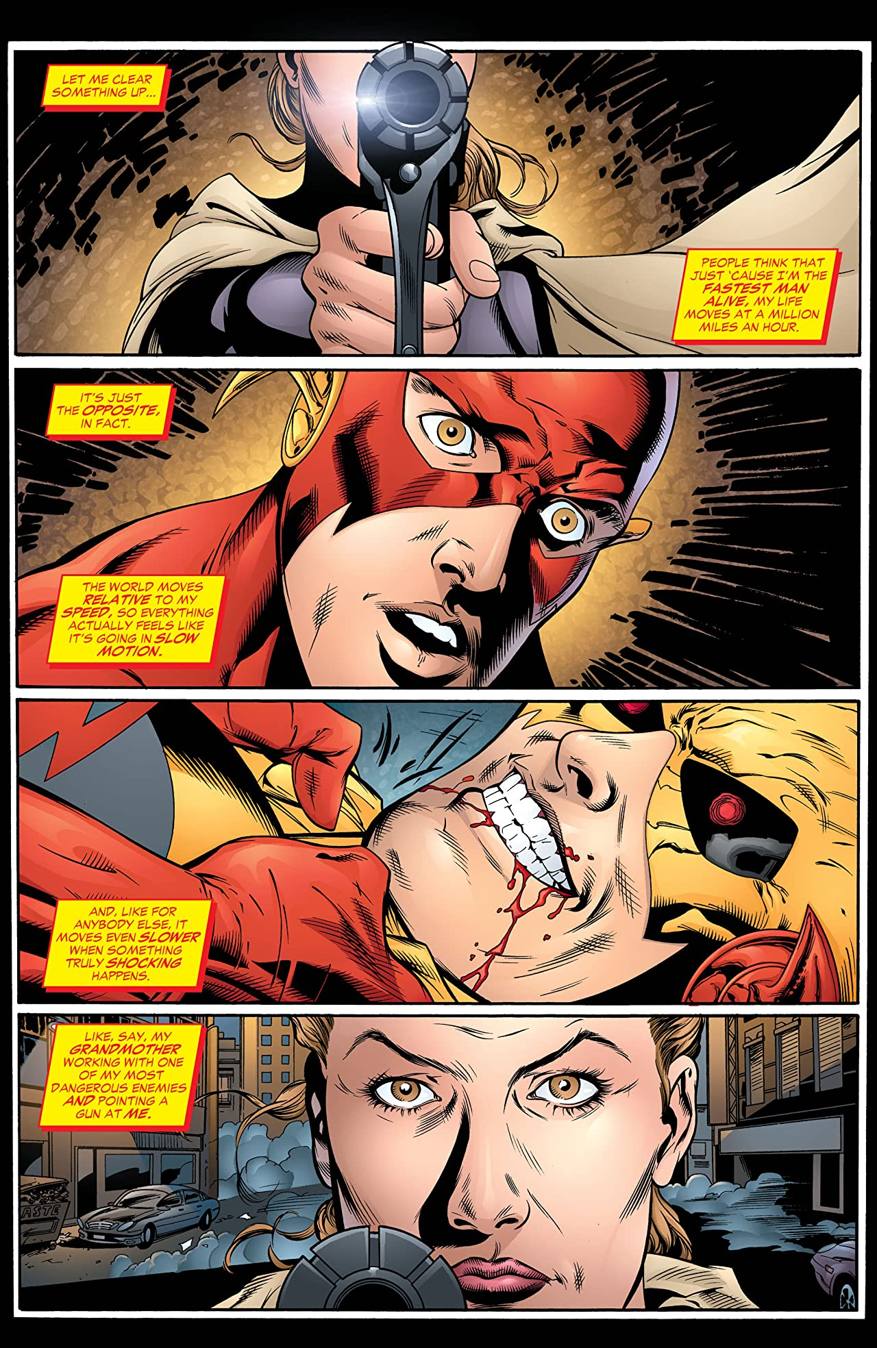 The Flash: The Fastest Man Alive (2006-2007) #11