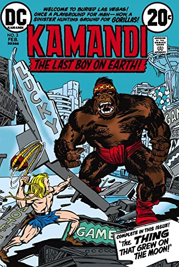 Kamandi: The Last Boy on Earth (1971-1978) #3