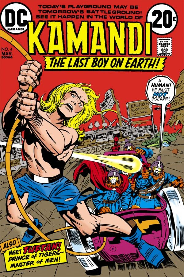 Kamandi: The Last Boy on Earth (1971-1978) #4