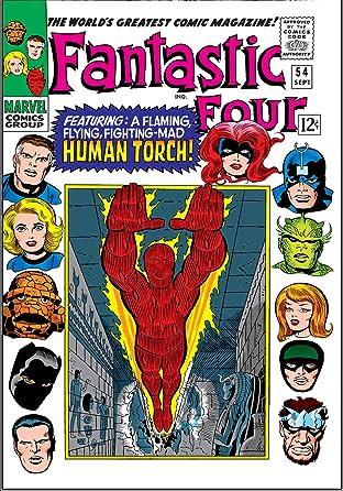 Fantastic Four (1961-1998) #54