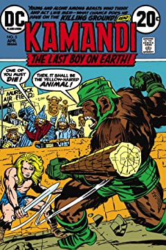 Kamandi: The Last Boy on Earth (1971-1978) #5