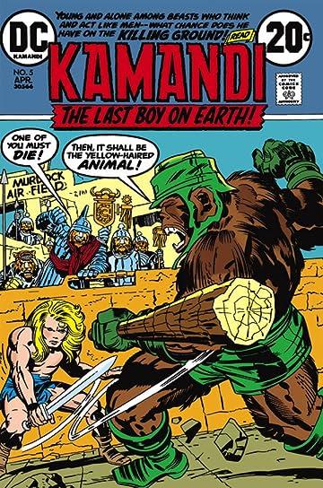 Kamandi: The Last Boy on Earth (1971-1978) #5