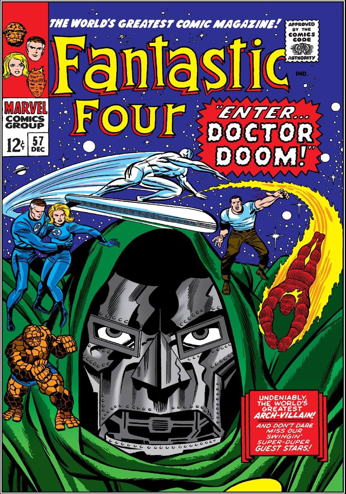 Fantastic Four (1961-1998) #57