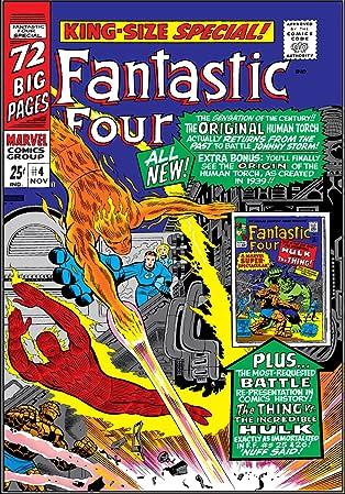 Fantastic Four (1961-1998) Annual #4