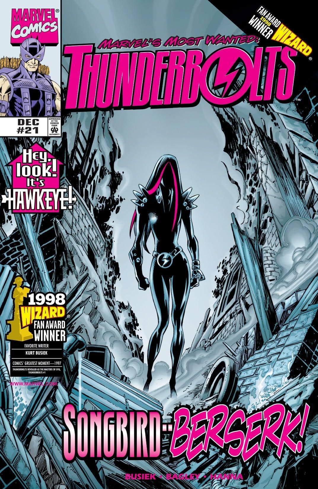 Thunderbolts (1997-2003) #21