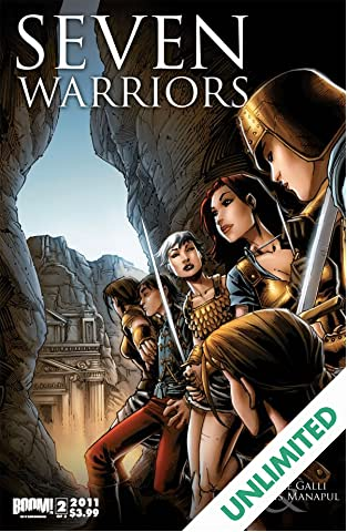 7 Warriors #2 (of 3)