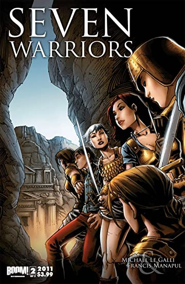 7 Warriors No.2 (sur 3)