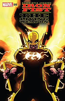 Iron Fist: The Living Weapon #10
