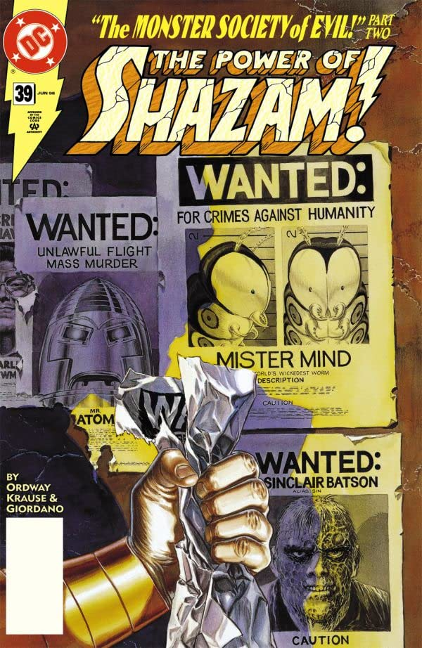 The Power of Shazam (1995-1999) #39