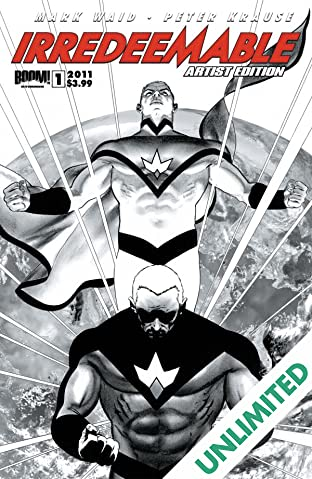 Irredeemable #1: Artist Edition