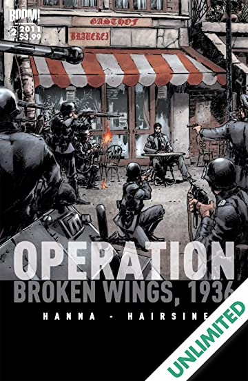 Operation Broken Wings 1936 #2 (of 3)
