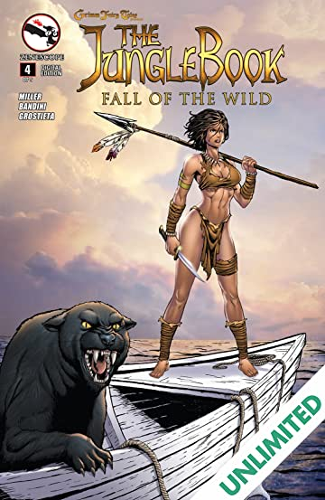 The Jungle Book: Fall of the Wild #4 (of 5)