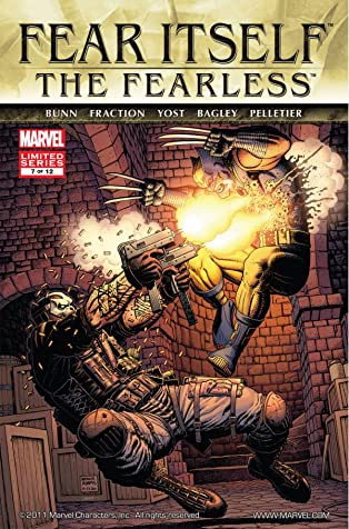 Fear Itself: The Fearless #7 (of 12)