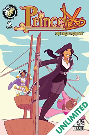 Princeless: The Pirate Princess #4