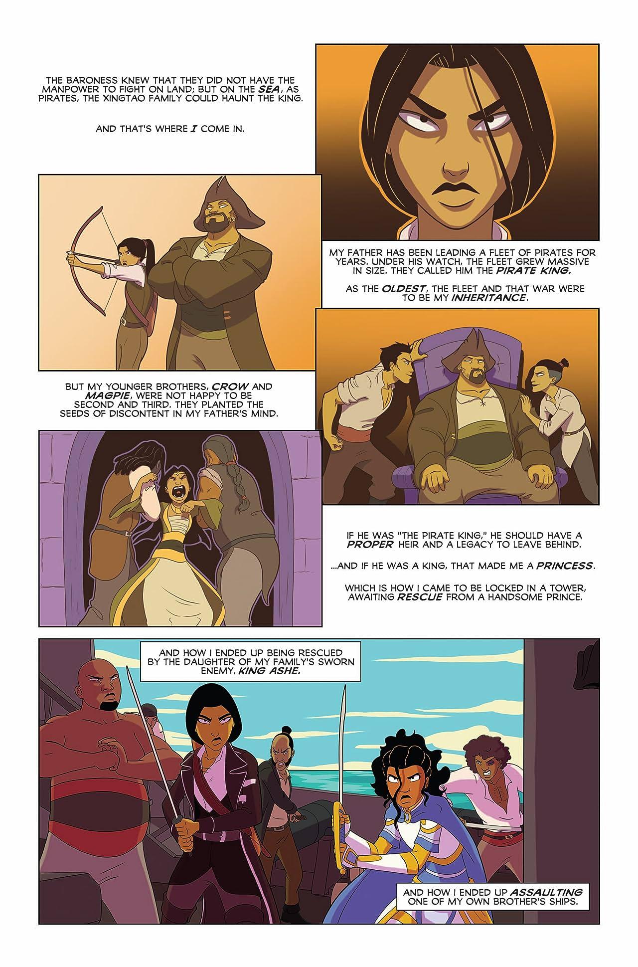 Princeless: The Pirate Princess #4