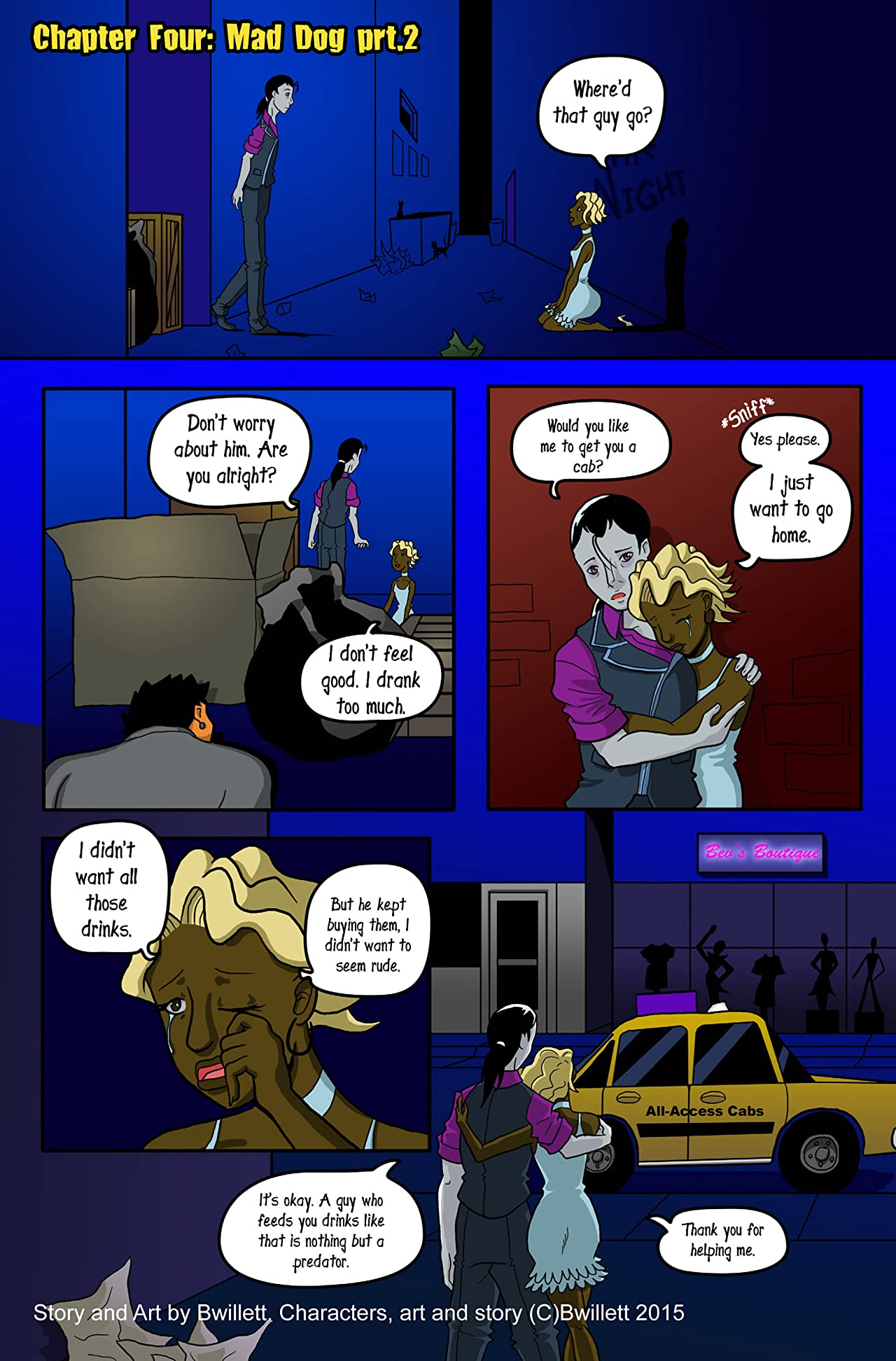 Midnight Menagerie #4