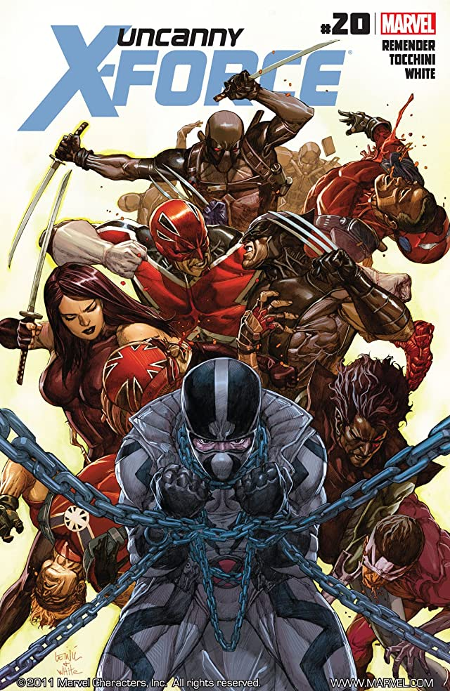 Uncanny X-Force (2010-2012) #20