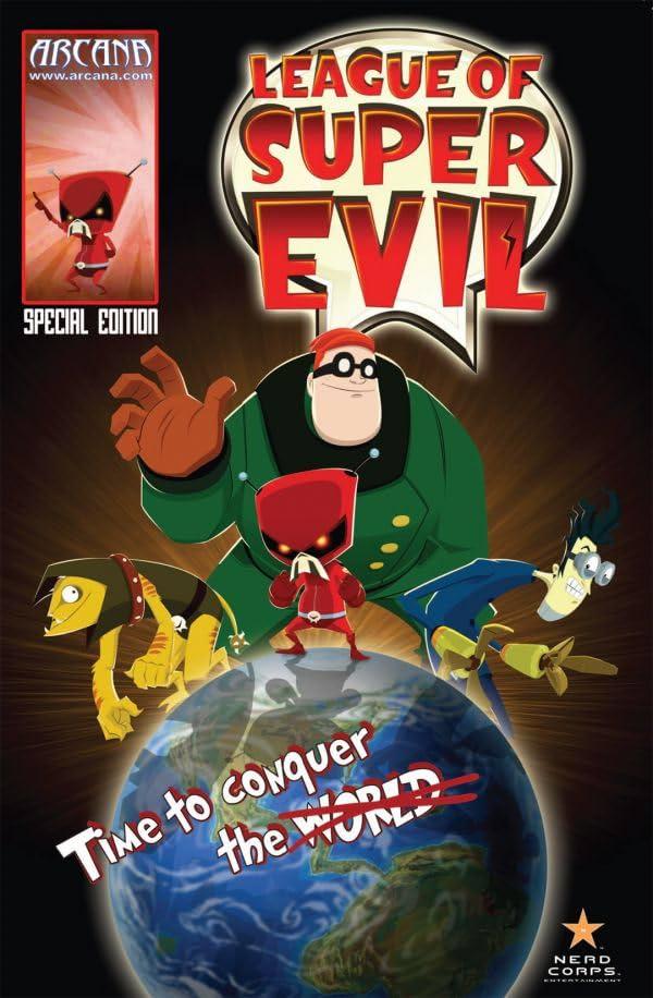 League of Super Evil: Preview
