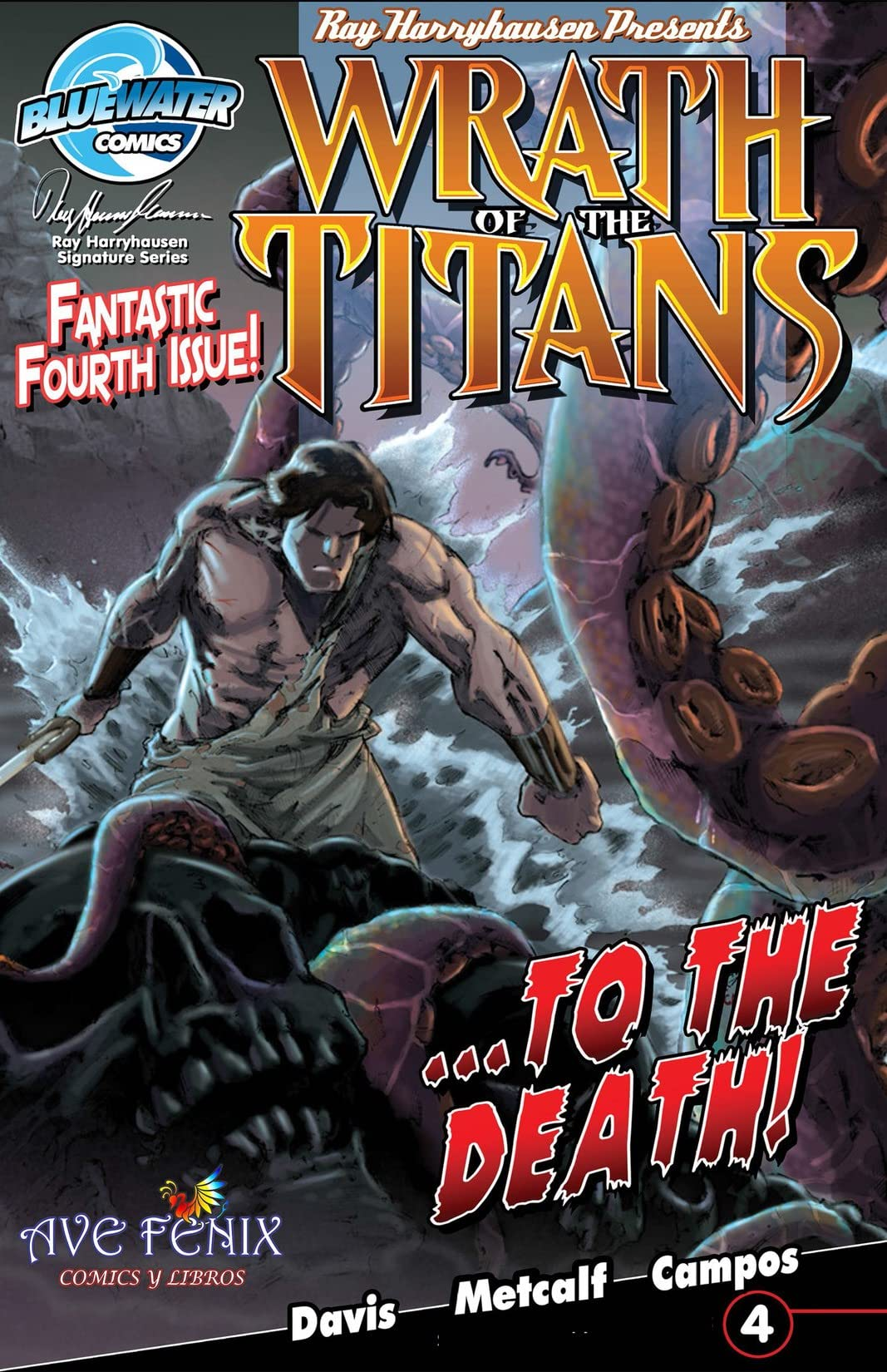 Wrath of the Titans: Spanish Edition #4
