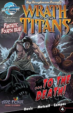 Wrath of the Titans: Spanish Edition #4