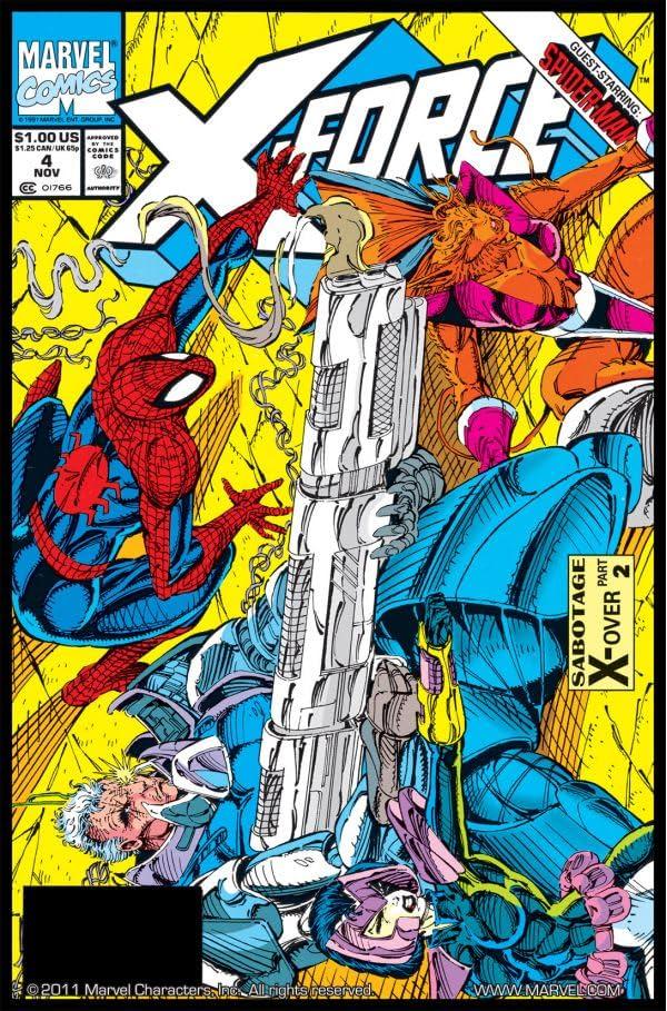 X-Force (1991-2002) #4