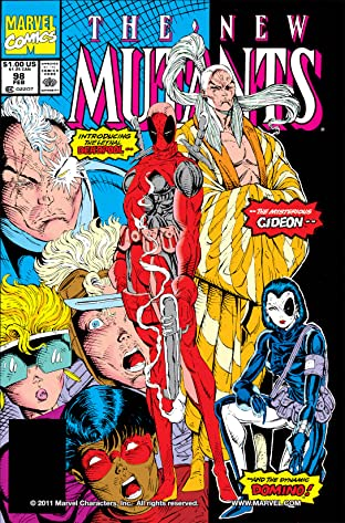 New Mutants (1983-1991) No.98