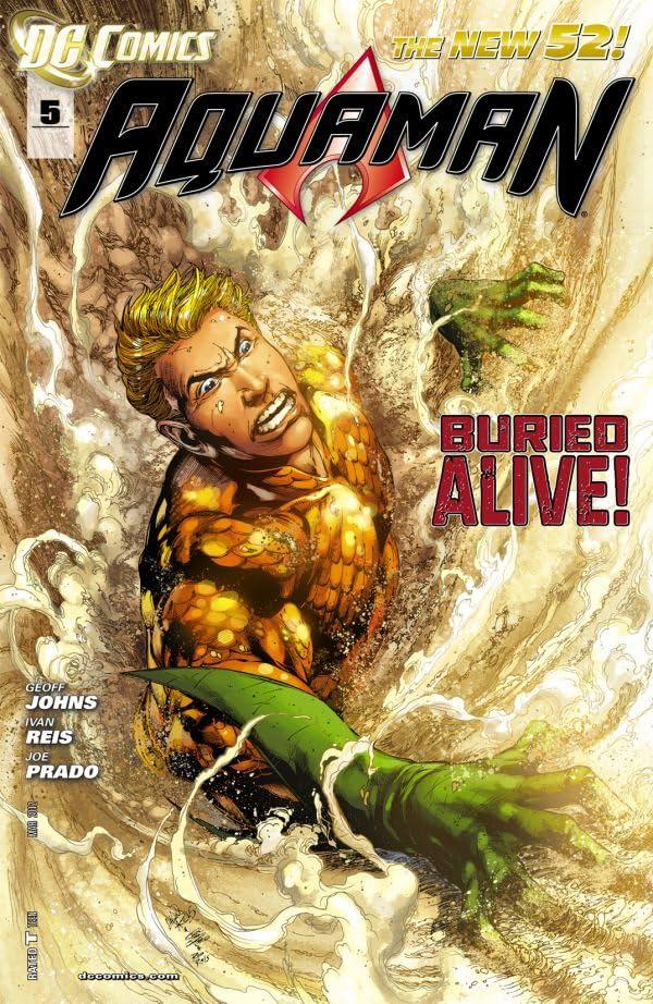 Aquaman (2011-) #5