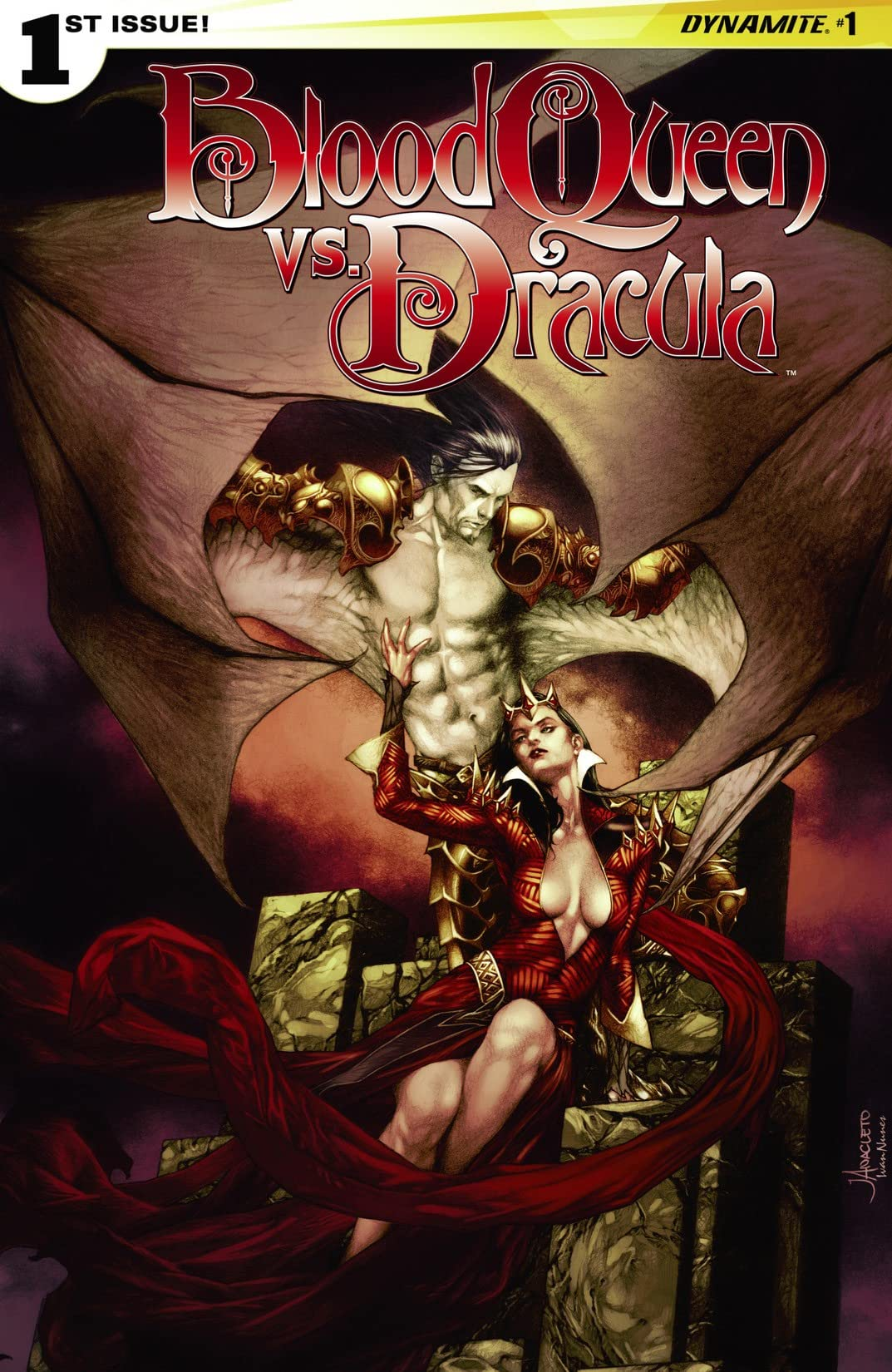Blood Queen vs. Dracula #1 (of 4): Digital Exclusive Edition