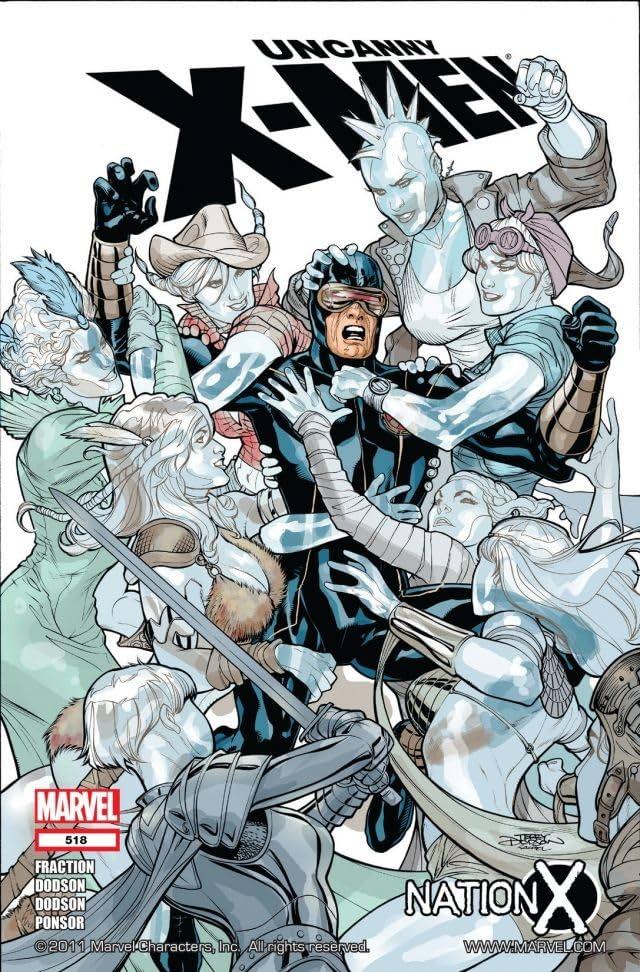 Uncanny X-Men (1963-2011) #518