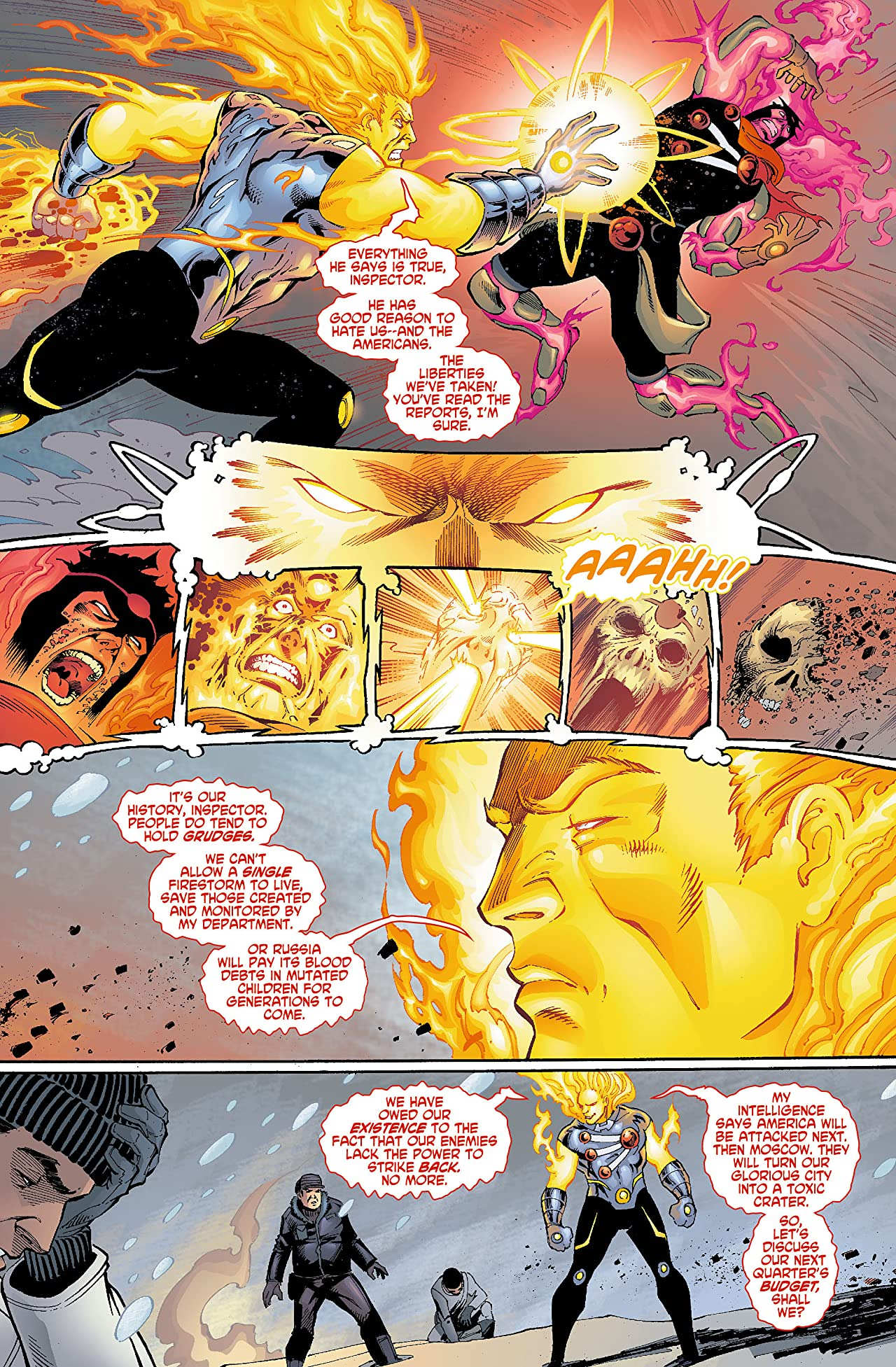 The Fury of Firestorm: The Nuclear Men (2011-2013) #5