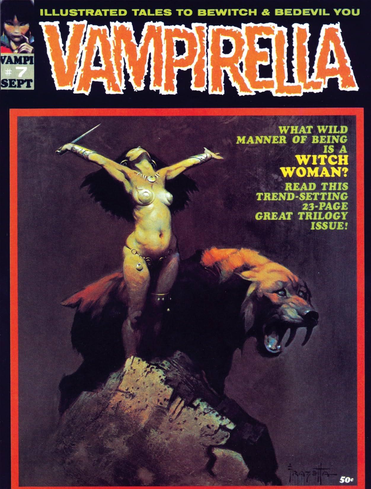 Vampirella (Magazine 1969-1983) #7