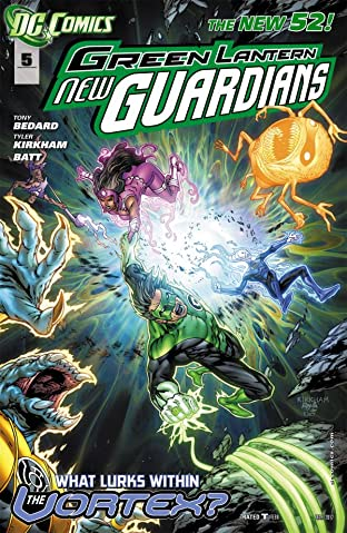 Green Lantern: New Guardians (2011-2015) No.5