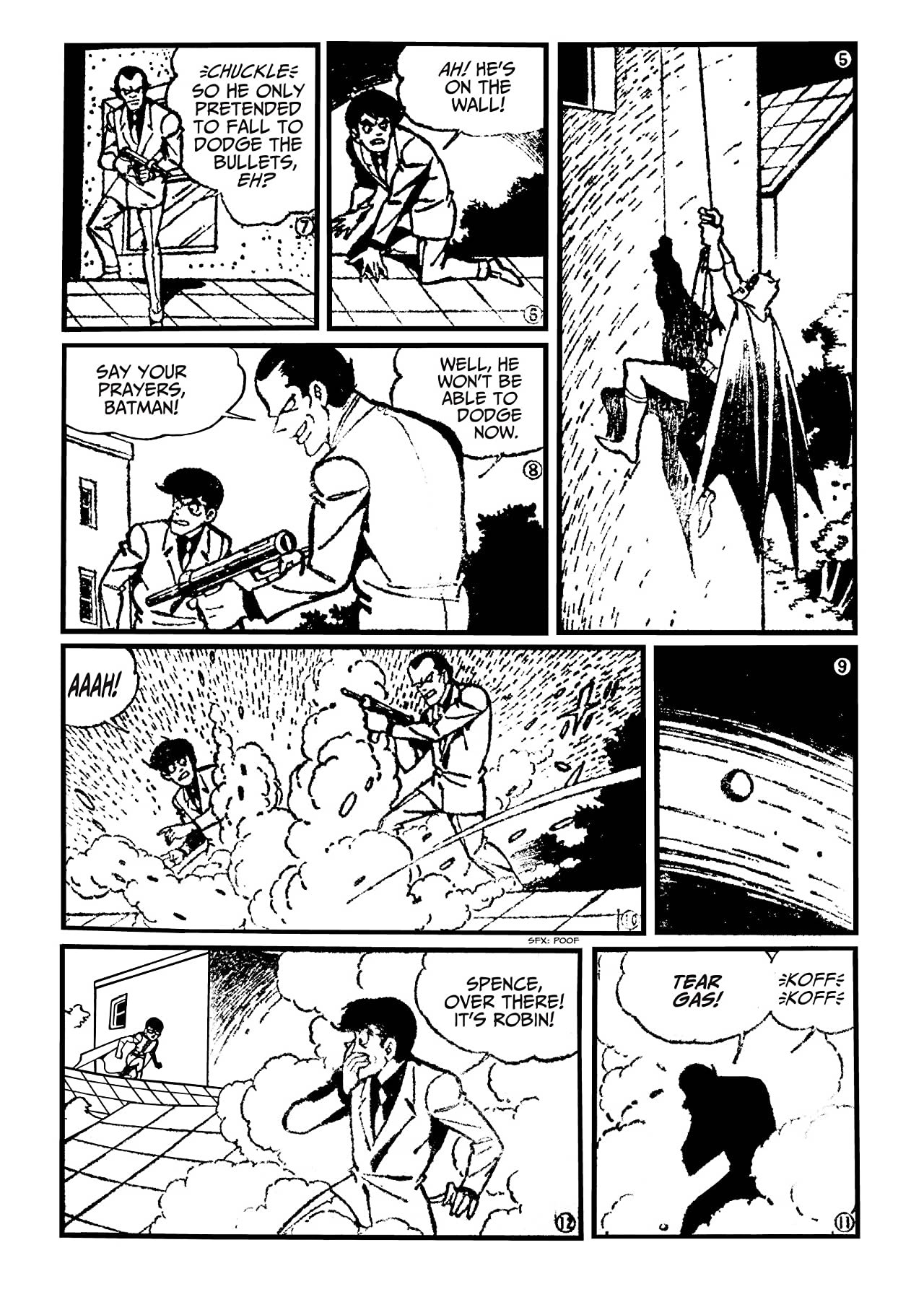 Batman: The Jiro Kuwata Batmanga #37