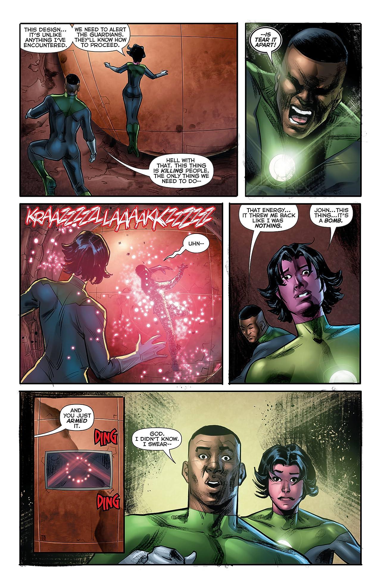 Green Lantern Corps (2011-2015) #40