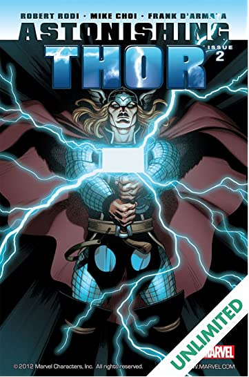 Astonishing Thor #2 (of 5)
