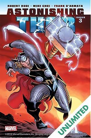 Astonishing Thor #3 (of 5)