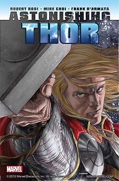 Astonishing Thor #4 (of 5)