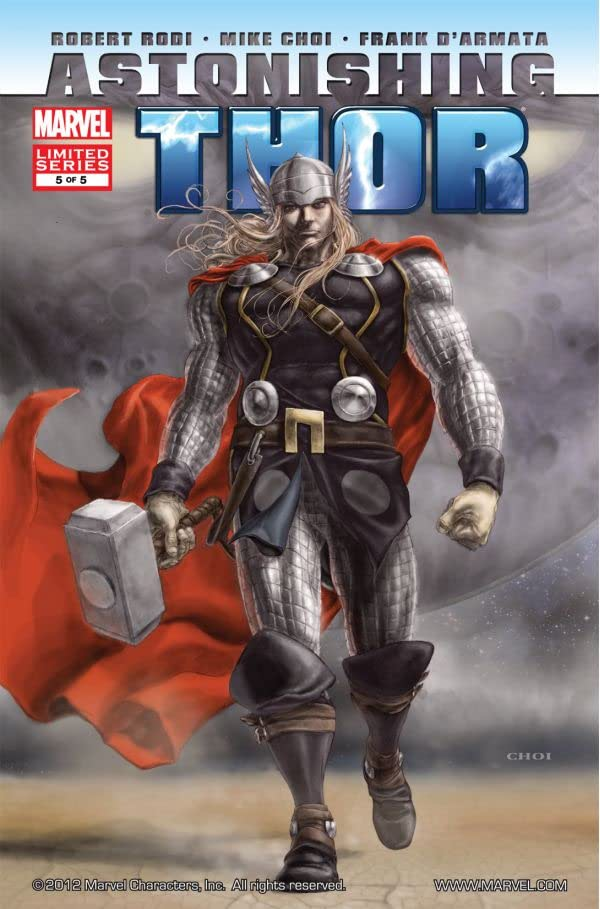 Astonishing Thor #5 (of 5)