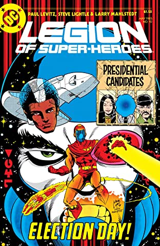 Legion of Super-Heroes (1984-1989) #10