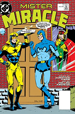 Mister Miracle (1989-1991) #7