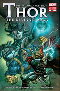 Thor: Deviants Saga #2 (of 5)
