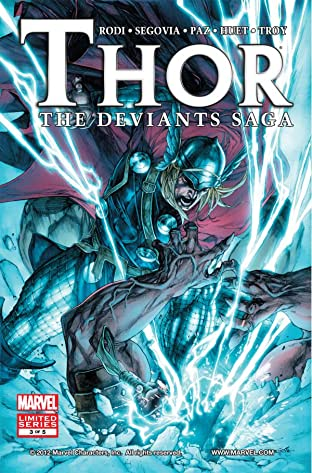 Thor: Deviants Saga #3 (of 5)