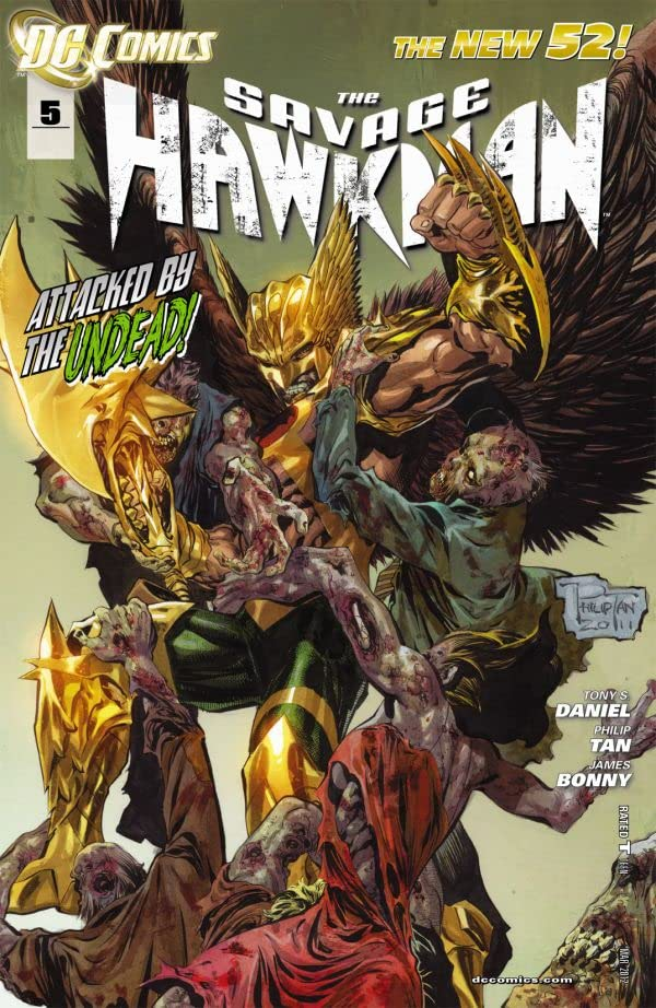 The Savage Hawkman (2011-2013) #5