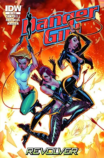 Danger Girl: Revolver #1 (of 4)