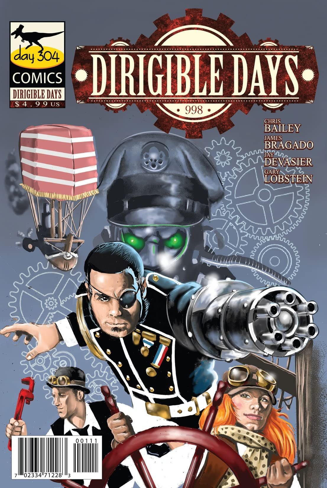 Dirigible Days: 998 #1