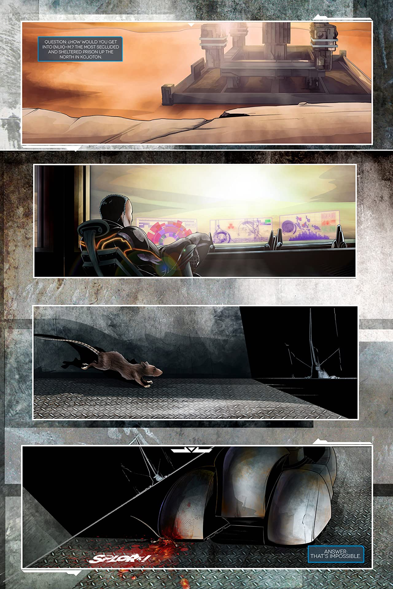 El Olvido: Virgil #1
