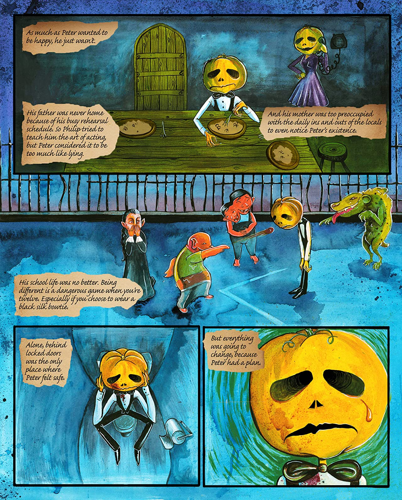 The Misadventures of Peter Pumpkinhead #1