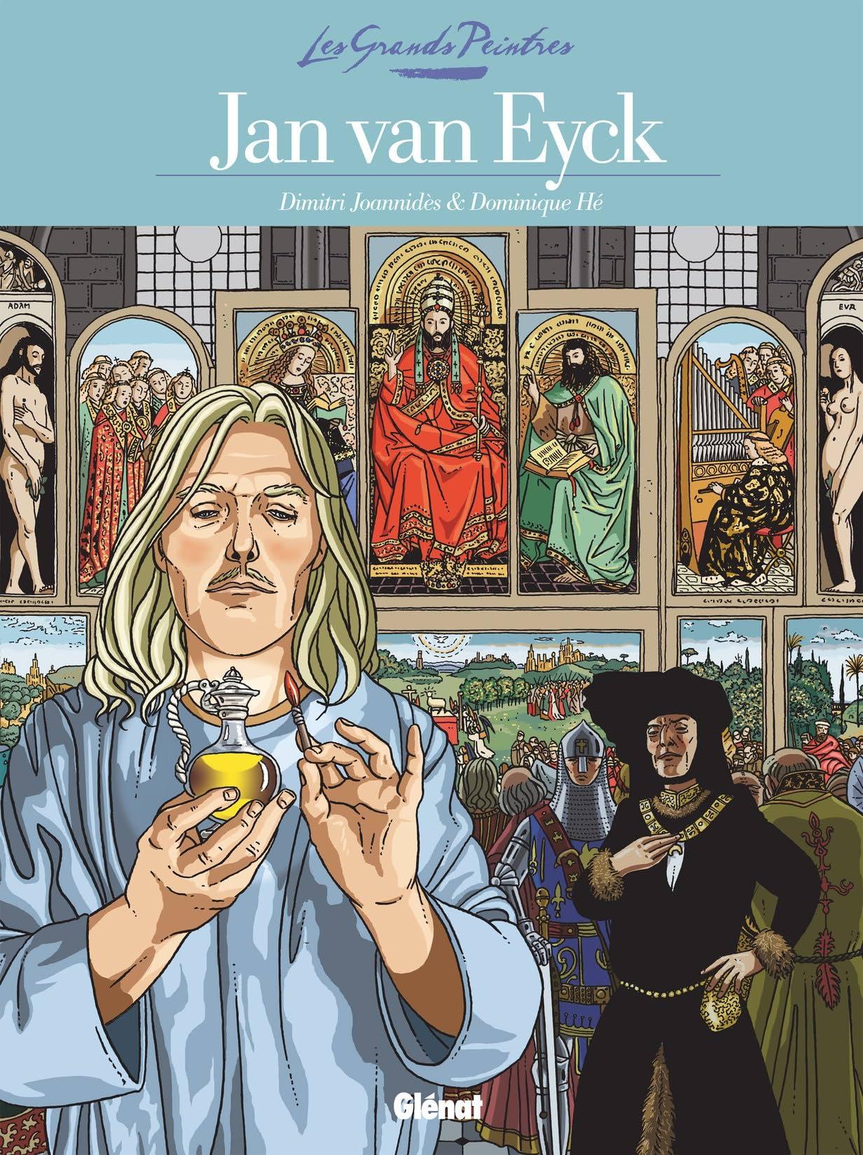 Jan van Eyck: Panneaux pour la baraque de la Goulue