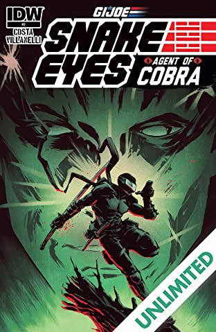 G.I. Joe: Snake Eyes, Agent of Cobra #2 (of 5)